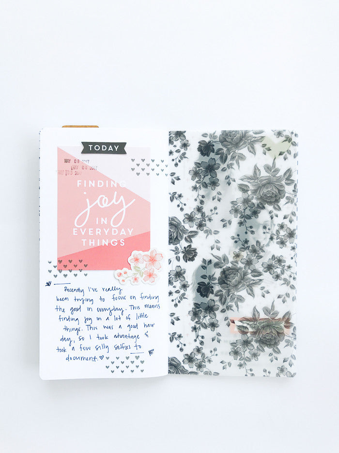 Everyday Things TN Layout by Suzanna Stein | @FelicityJane