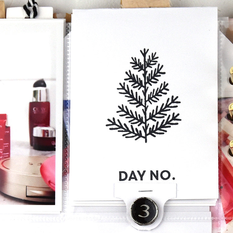 December Daily Stamp & Cut File Inspiration with Holly 2 | Lorilei Murphy | Felicity Jane