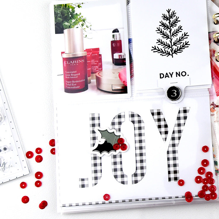 December Daily Stamp & Cut File Inspiration with Holly 4 | Lorilei Murphy | Felicity Jane