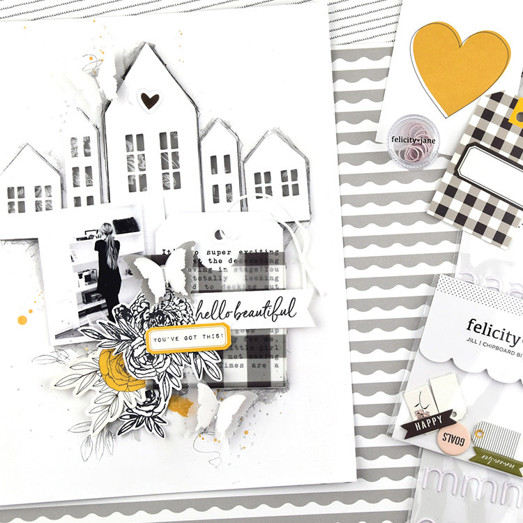 You've Got This Layout with the Jill Collection 01 | Lorilei Murphy | Felicity Jane