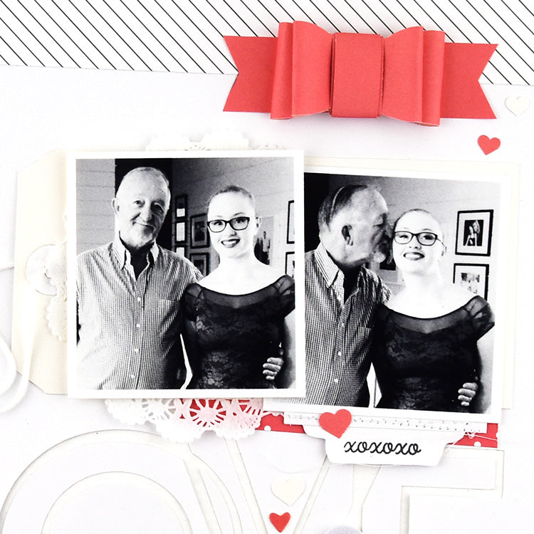 Love Always Layout with the Lindsey Kit 2 | Lorilei Murphy | Felicity Jane