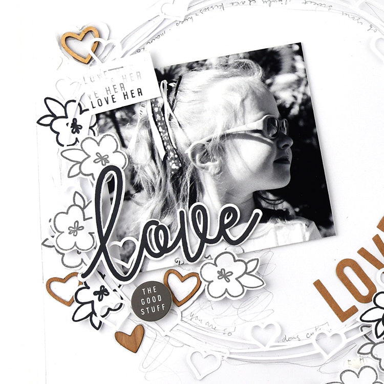 Love Her Layout using the Lindsey Collection 2 | Lorilei Murphy | Felicity Jane