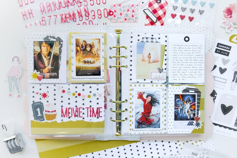Pocket Pages by Tiffany Julia for Felicity Jane