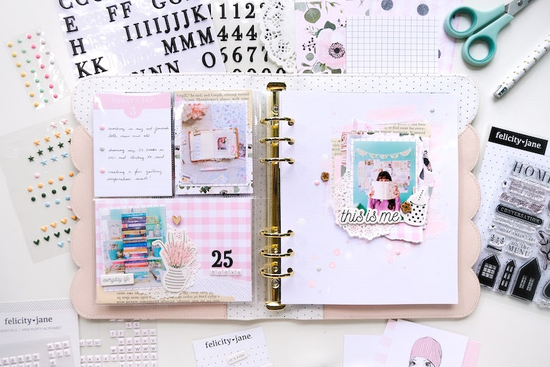 Note to Self Spread by Tiffany Julia for Felicity Jane