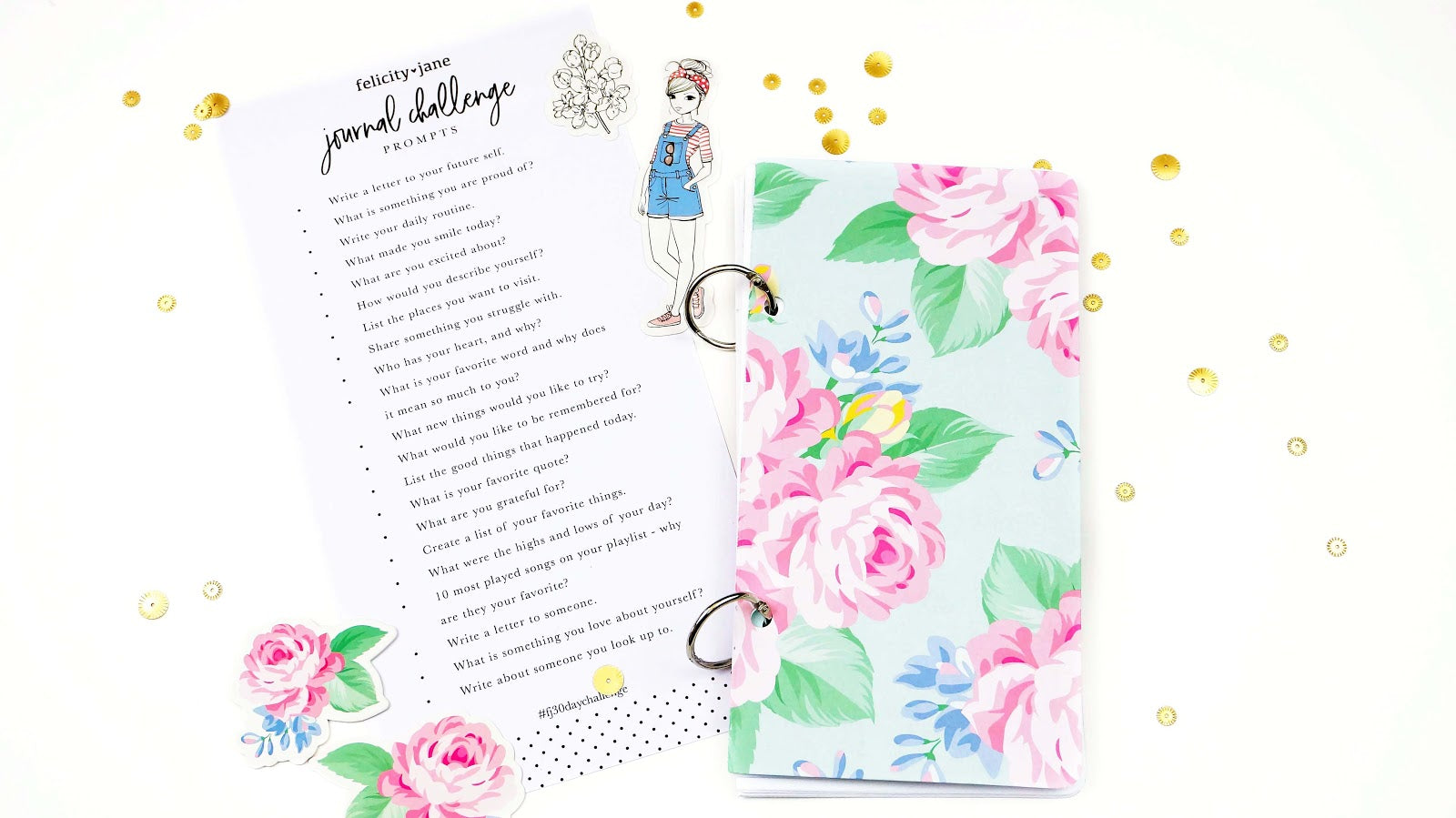 FJJournal30days All About Me 1 - Lindsey Lanning - Felicity Jane