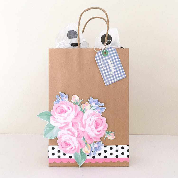 Decorated Gift Bag Mandy Melville Felicity Jane