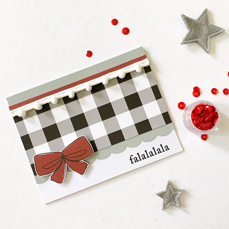 Christmas Cards with Holly Kit 4 | Mandy Melville | Felicity Jane