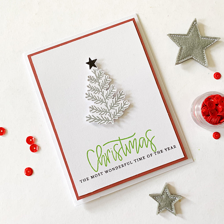 Christmas Cards with Holly Kit 6 | Mandy Melville | Felicity Jane