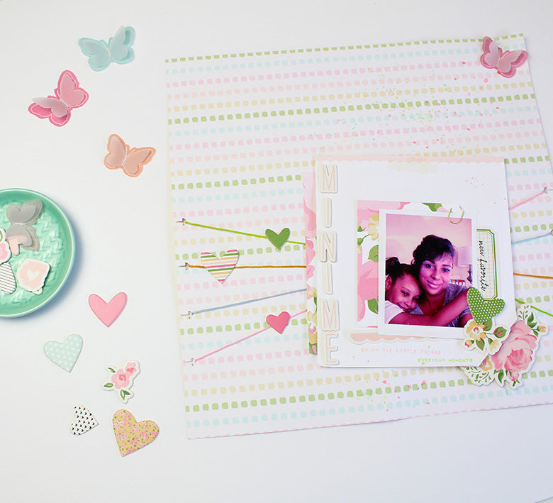 Scrapbook Layout by Desiree Lamar for Felicity Jane