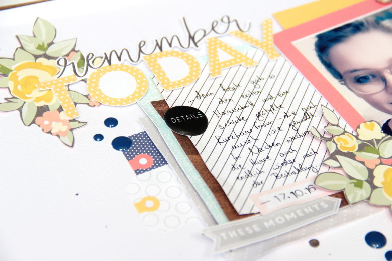 'Remember today' by Laureen Wagener | Sketch Saturday | @FelicityJane