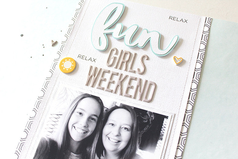 Fun Girls Weekend Layout by Mandy Melville | Mandy Melville