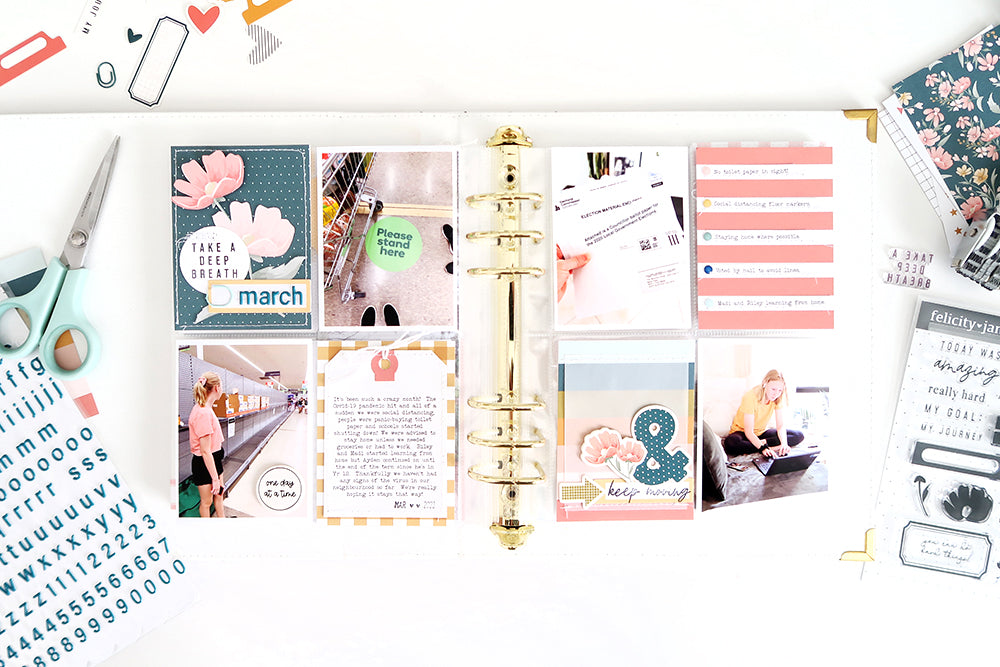 Pocket Pages by Sheree Forcier for Felicity Jane