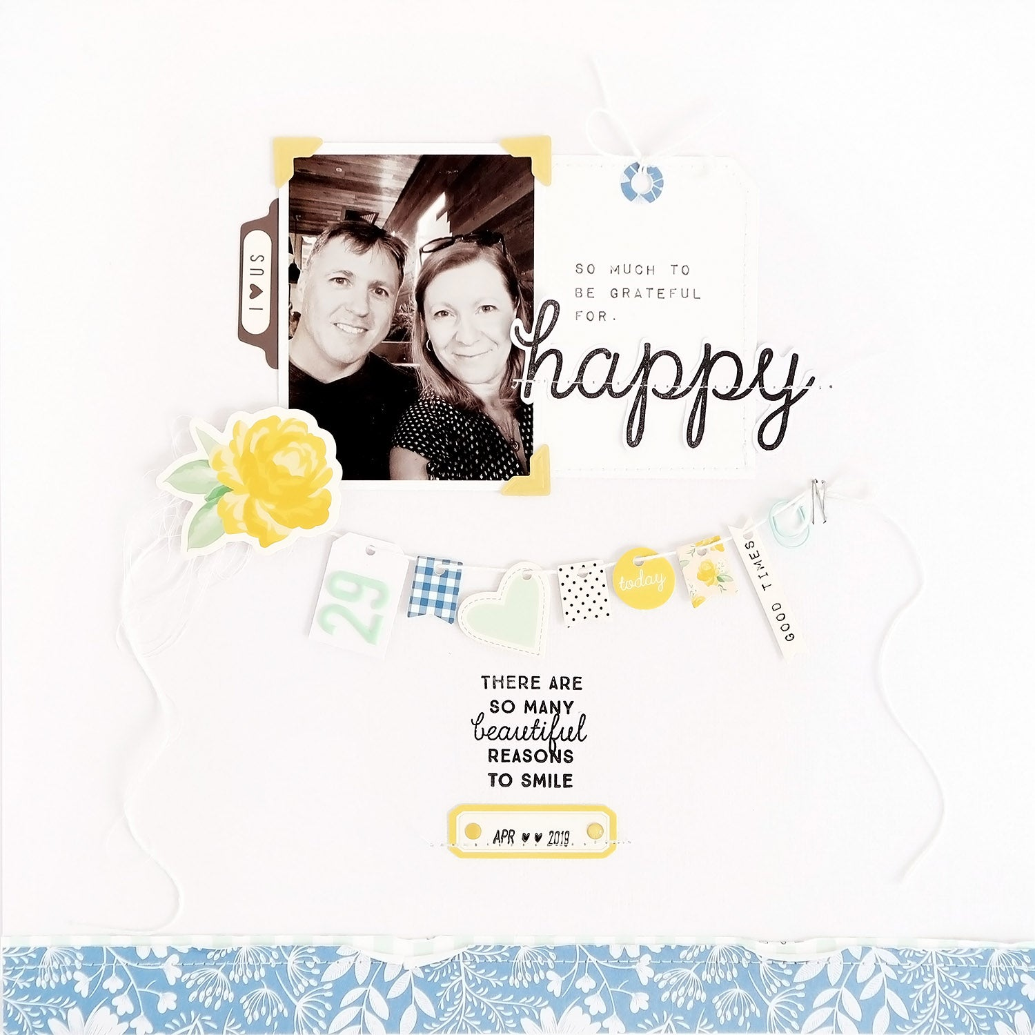 Happy Layout with Process Video  IG | Sheree Forcier