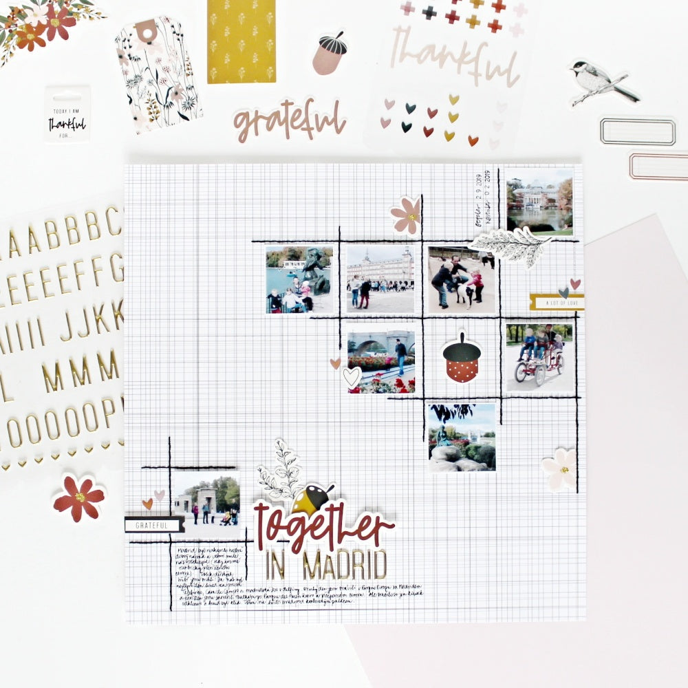 Scrapbook Layout by Jana Bennett for Felicity Jane