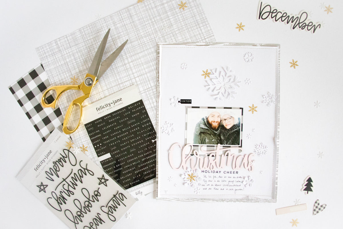 White on White Winter Layout 1 | Kathleen Graumüller | Felicity Jane