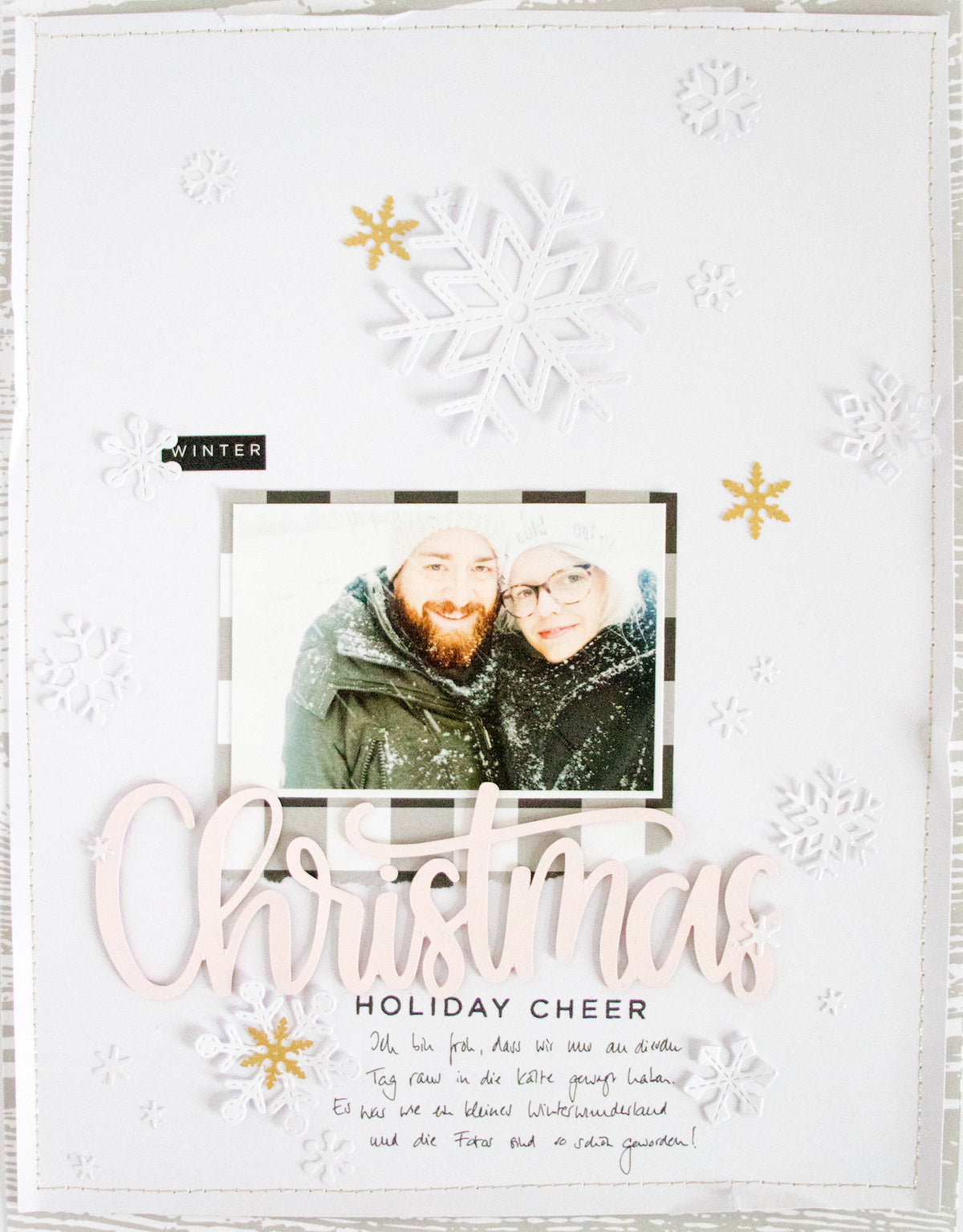 White on White Winter Layout 2 | Kathleen Graumüller | Felicity Jane