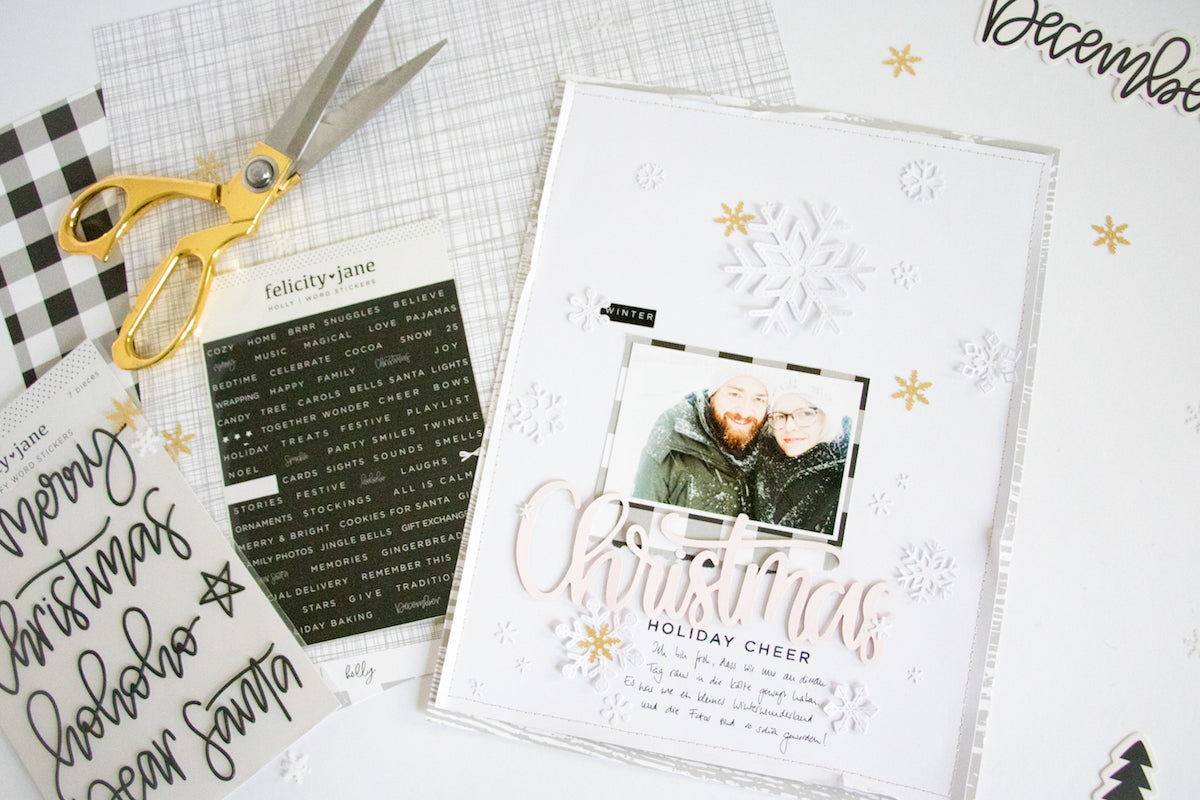 White on White Winter Layout 3 | Kathleen Graumüller | Felicity Jane