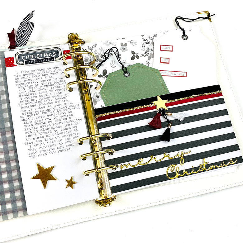 December Album Pages by Lindsey Lanning for Felicity Jane