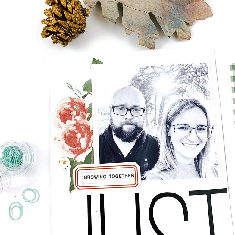 A5 Journal Spread by Lindsey Lanning for Felicity Jane