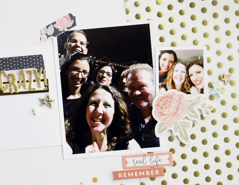 Crazy Layout by Kim Jeffress | @FelicityJane