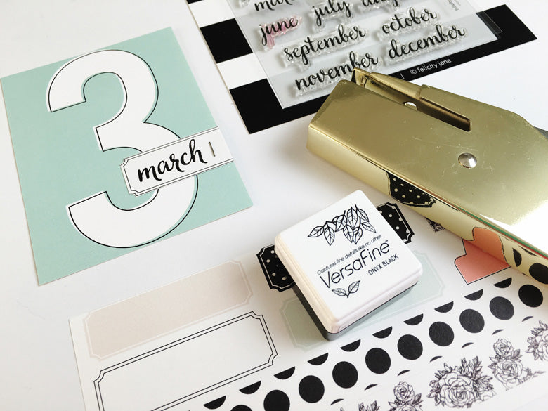 Julie Kinneeveauk| @felicity-jane | march pocket pages