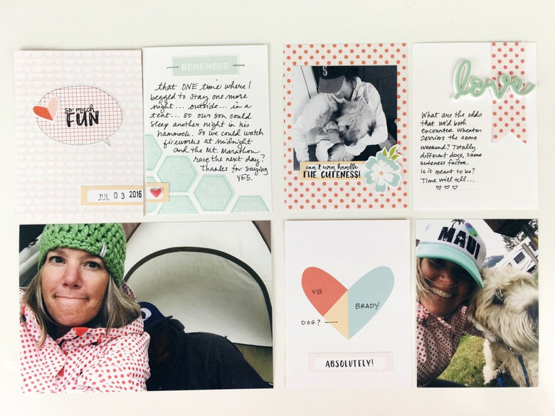 Stamping Unique Pocket Pages | @felicity_jane | Julie Kinneeveauk