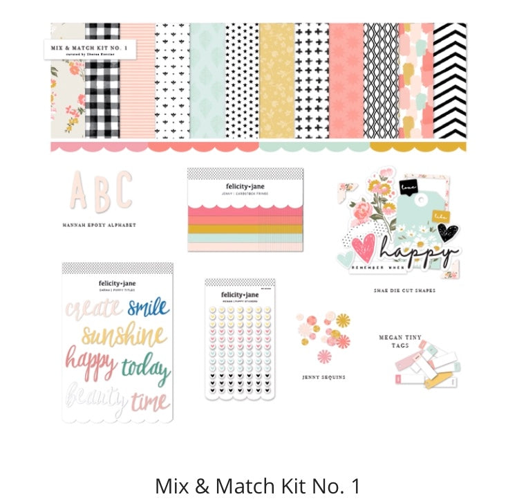 Mix & Match Kit No 1 by Sheree Forcier for Felicity Jane
