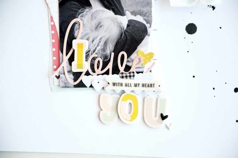 I love you Layout | Anne Keller | Felicity Jane