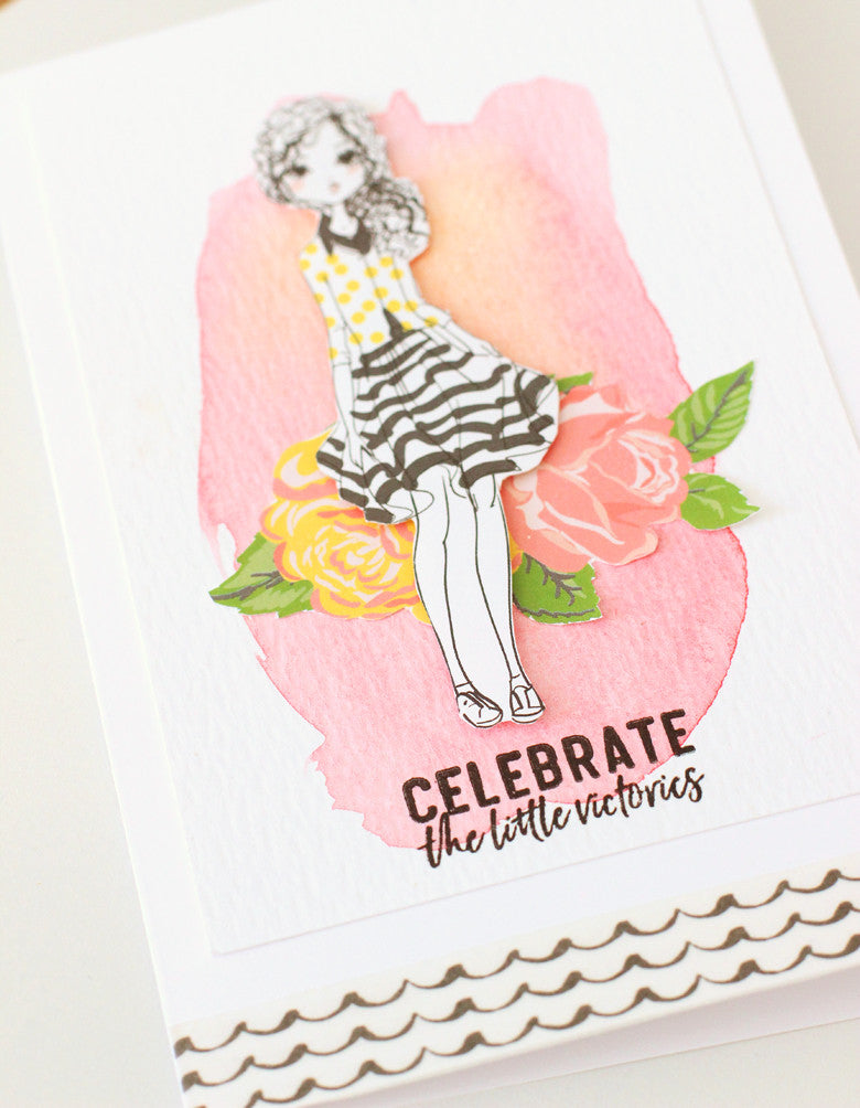 Jane Card by @nancydamiano | @felicityjane