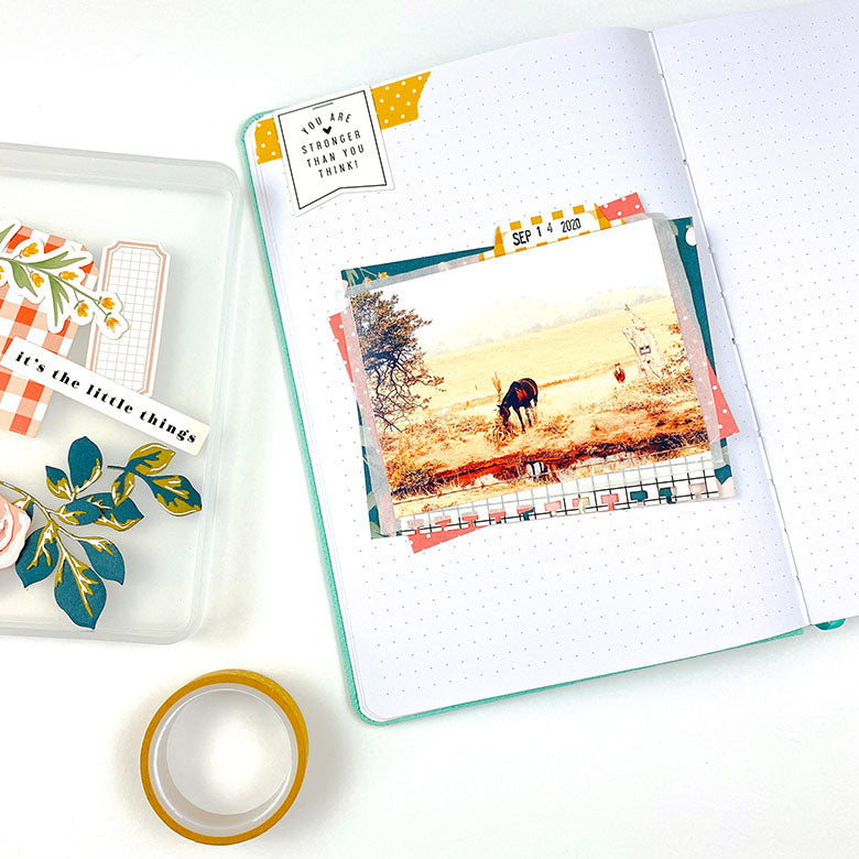 Journal Pages by Lindsey Lanning for Felicity Jane