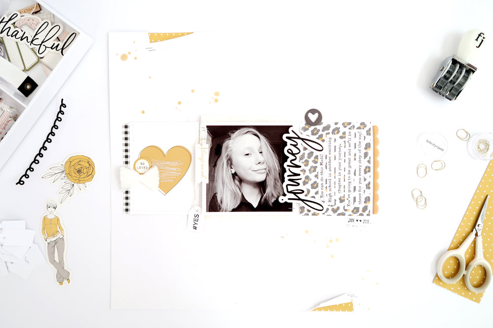 Journey Layout with Process Video 1 | Sheree Forcier