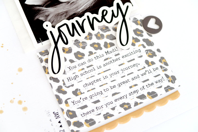 Journey Layout with Process Video 4 | Sheree Forcier