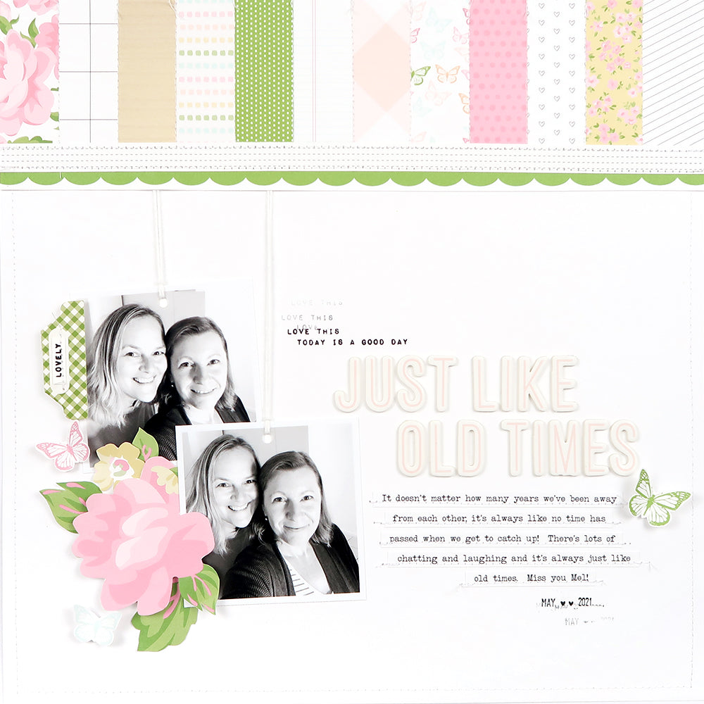 Scrapbooking Layout by Sheree Forcier for Felicity Jane
