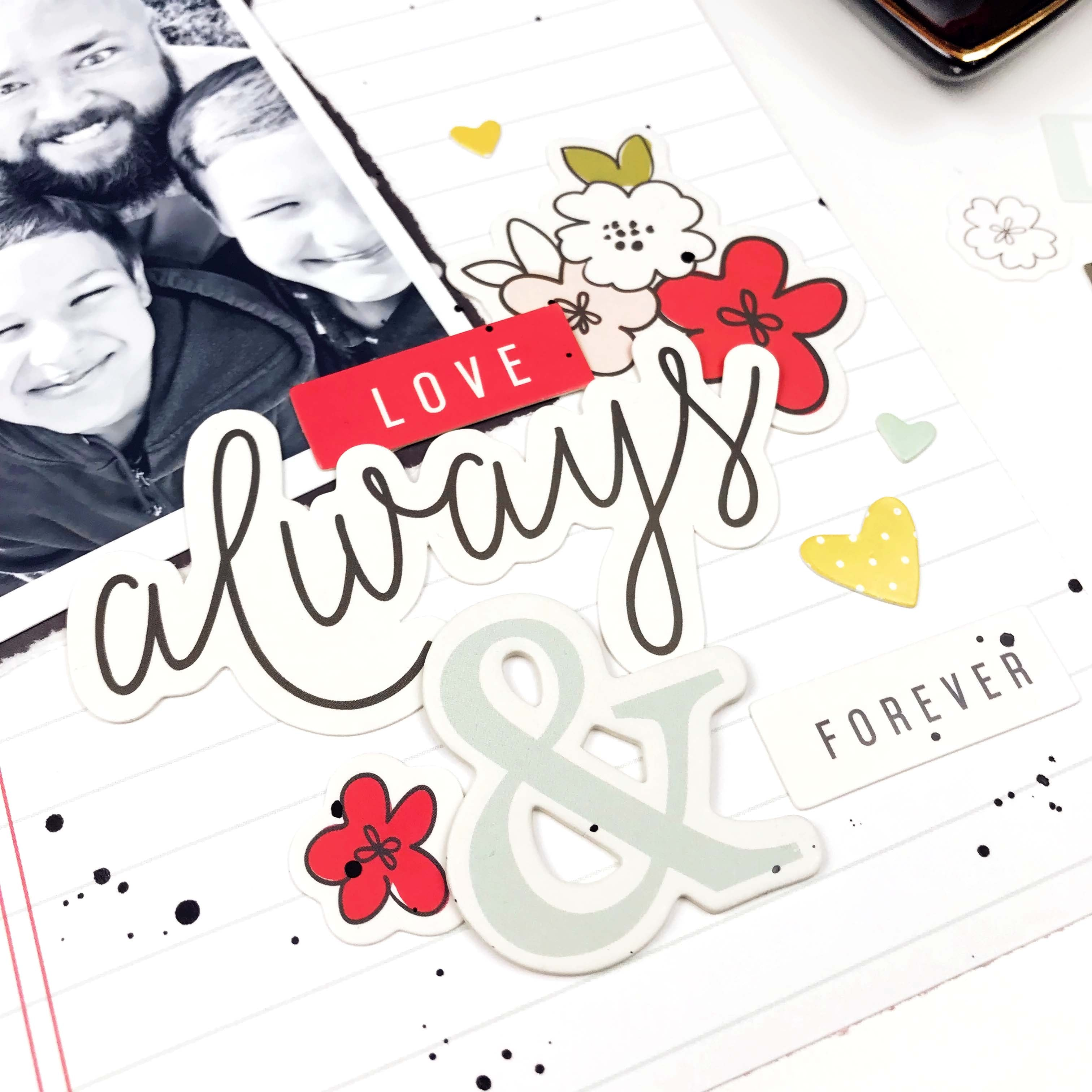 6x8 Layout | Always & Forever 2 | Lindsey Lanning | Felicity Jane