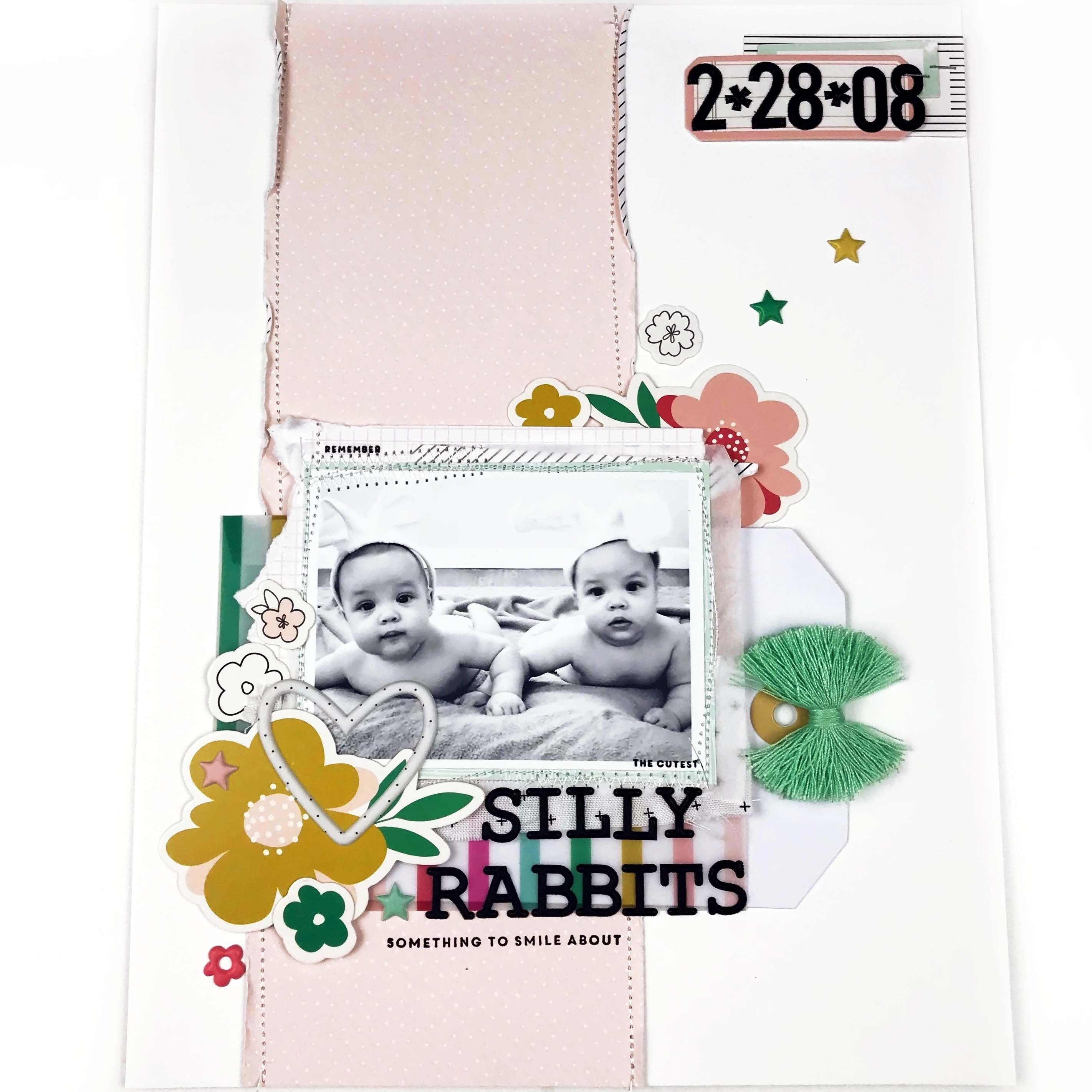 8.5x11 Layout - Silly Rabbits 1 |  Lindsey Lanning | Felicity Jane