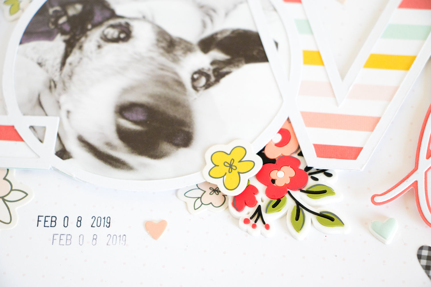 LOVE Layout with the Lindsey Kit  04 | Kathleen Graumüller | Felicity Jane