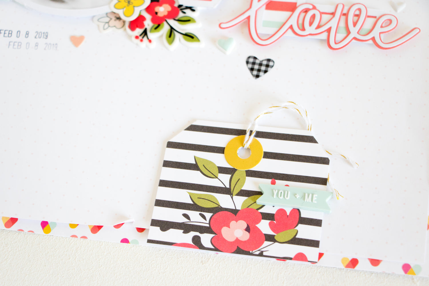 LOVE Layout with the Lindsey Kit  05 | Kathleen Graumüller | Felicity Jane