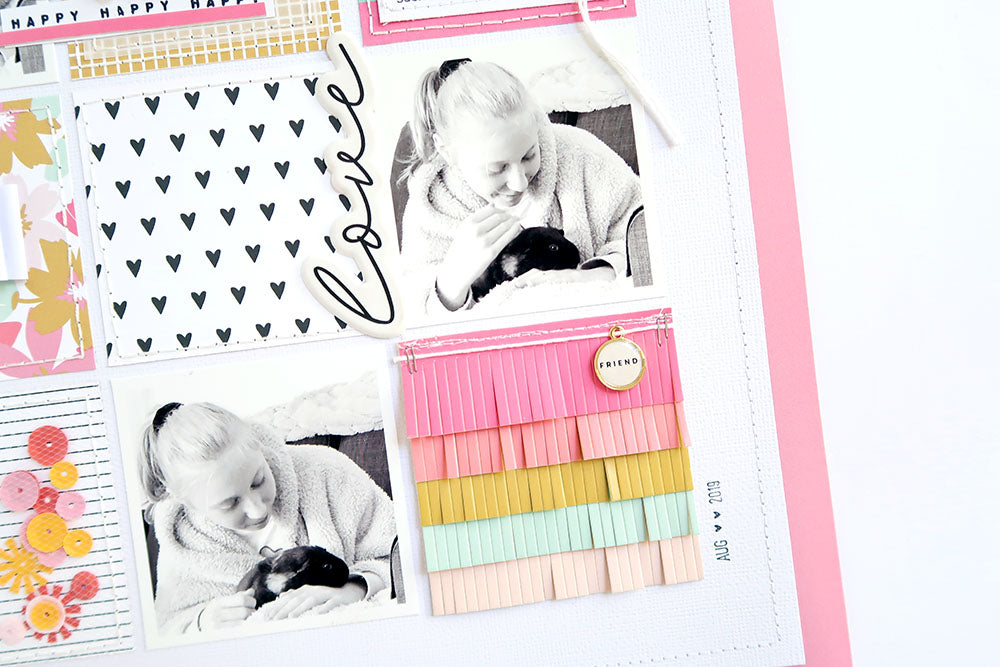 Scrapbook Layout by Sheree Forcier for Felicity Jane