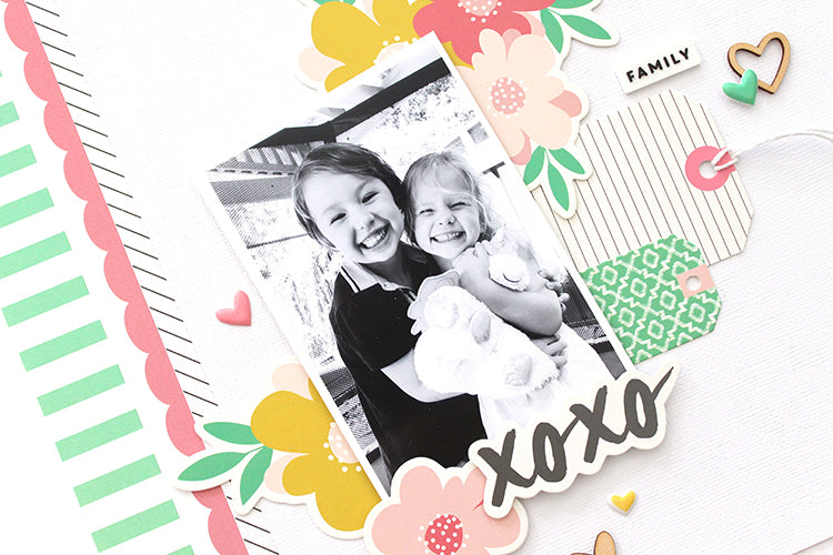 'Love These 2' layout using the Jaimee Kit 2 | Mandy Melville | Felicity Jane