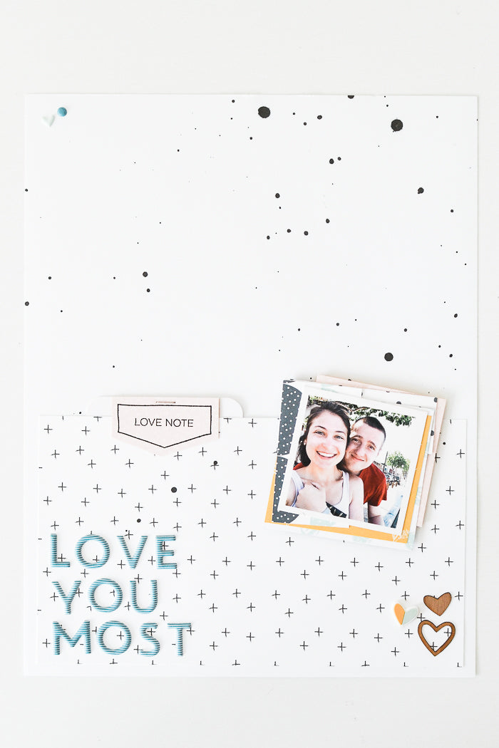 Love You Most Layout by Suzanna Stein | @FelicityJane