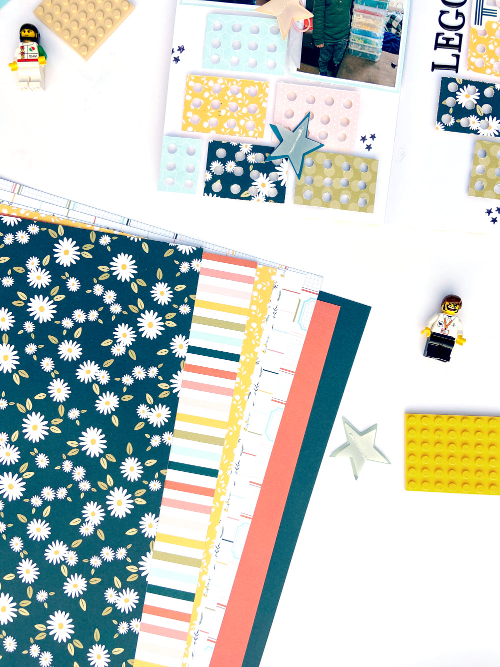 A5 Notebook Spread by Lydia Cost for Felicity Jane