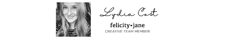 Place Cards by Lydia Cost for Felicity Jane