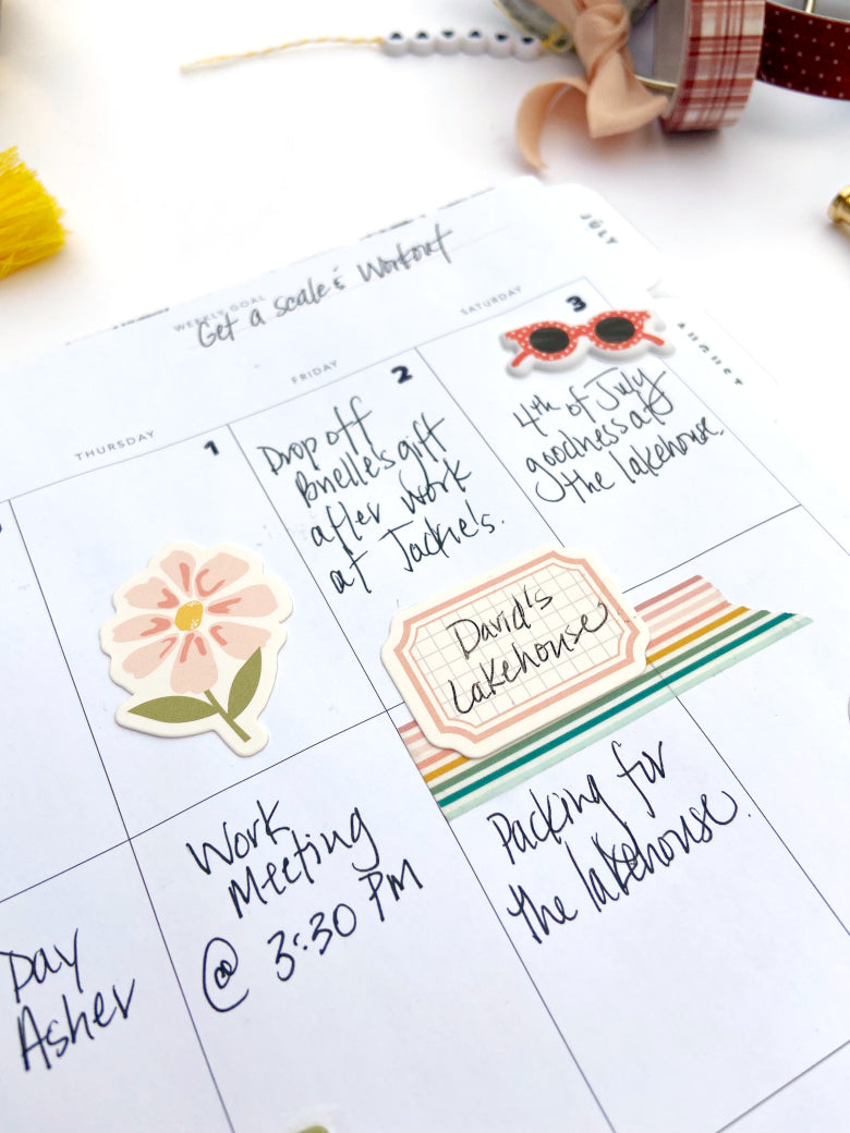 Planner Spread by Lydia Cost for Felicity Jane