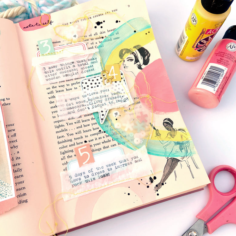 Altered Notebook by Lydia Cost for Felicity Jane