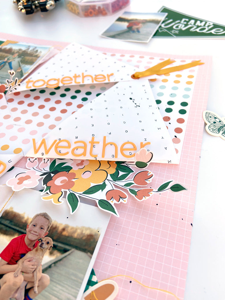Scrapbook Layout by Lydia Cost for Felicity Jane