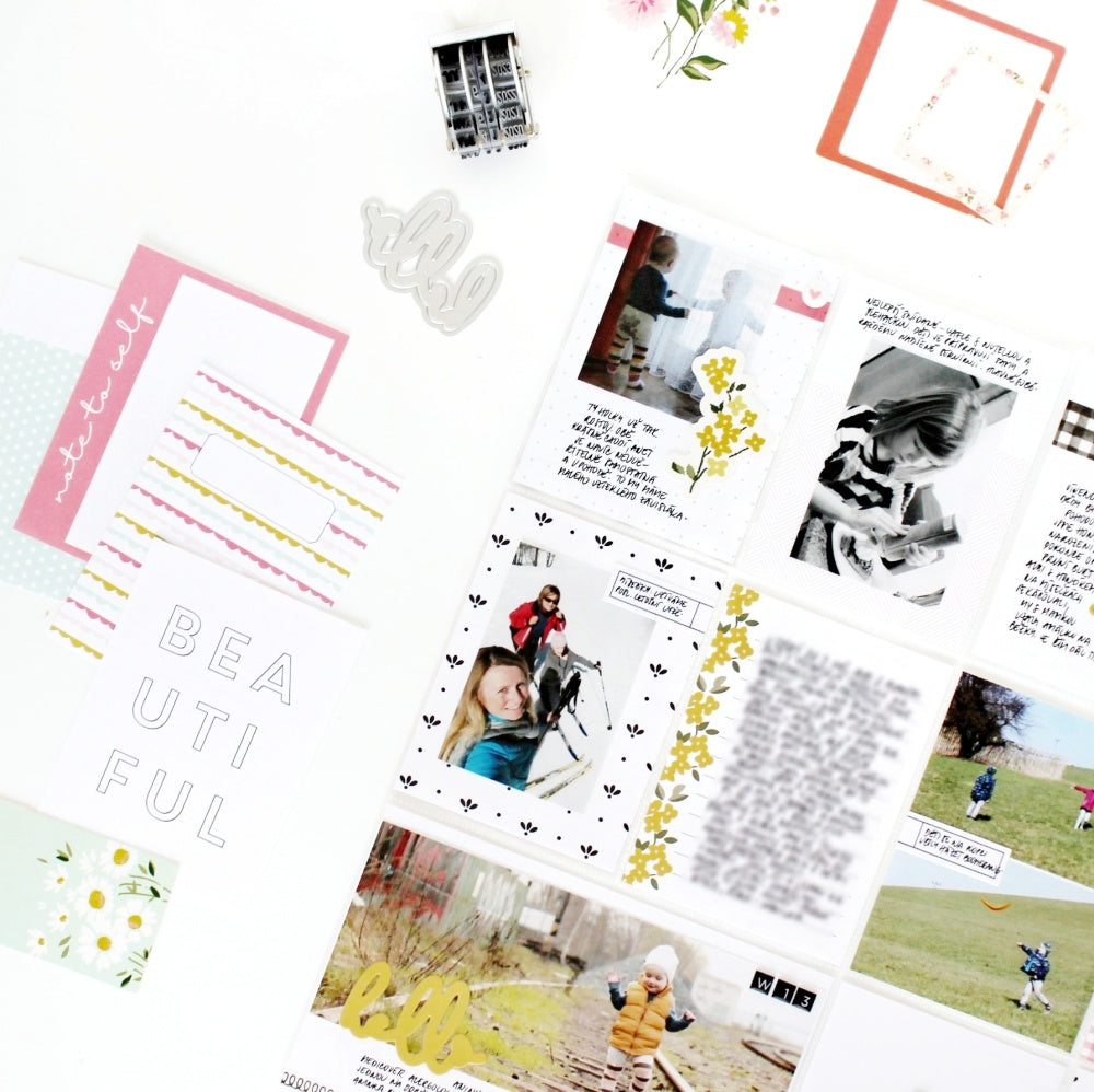 Pocket Pages by Jana Bennett for Felicity Jane