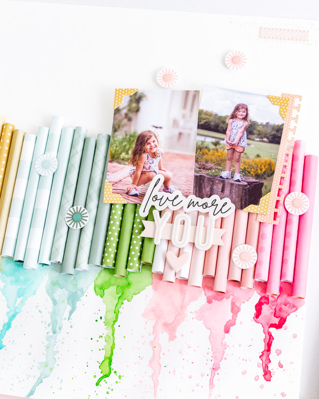 Scrapbook Layout by Celes Gonzalo for Felicity Jane
