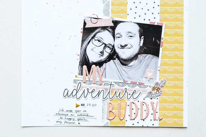 My Adventure Buddy Layout by Suzanna Stein | @FelicityJane