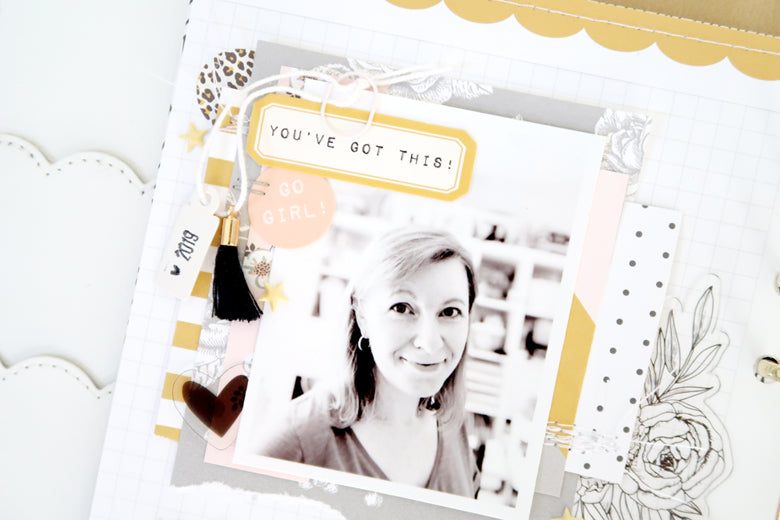 New Year New Goals Note to Self Binder Spread 3 | Sheree Forcier | Felicity Jane