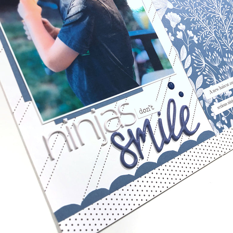 Ninjas Don't Smile - TN Layout 3 | Lynne Ashcraft